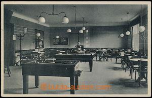 159879 - 1938 MIKULOV (Nikolsburg) - městská kavárna, interiér - kule