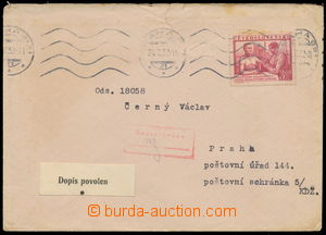 160661 / 3295 - Filatelie / ČSR II. / Filatelistické obory / Vězeňská pošta a pracovní tábory