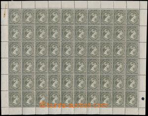 160884 - 1891-1902 SG.32, Královna Viktorie 4P černoolivová, celý pře