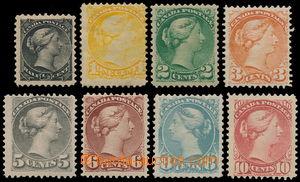 161005 - 1870 Sc.34-37, 42, 43, 45, Královna Viktorie, nominálně komp