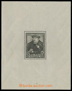 161748 - 1935 Mi.Bl.3, aršík Salon Internationale; svěží, nápichové b