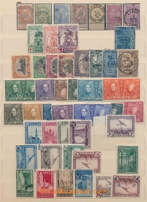 161750 - 1893-1935 [SBÍRKY]   sestava vybraných sérií, obsahuje mj. M