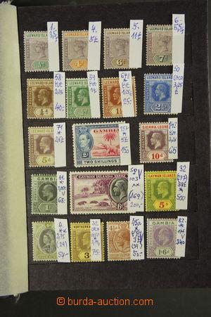 161797 - 1880-1945 [SBÍRKY] COMMONWEALTH  menší sbírka vybraných klas