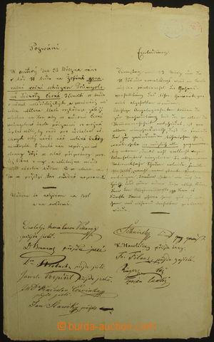 161816 / 1288 - Autogramy, rukopisy / Politici a veřejně činné osoby