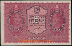 161962 - 1919 Ba.8, 5Kč, série 0016