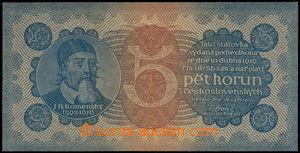 161963 - 1921 Ba.18, 5Kč, série 1