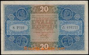 161965 - 1919 Ba.10, 20Kč, série P222
