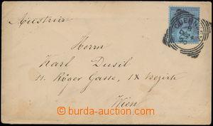 162331 - 1890 GUERNSEY  dopis do Vídně vyfr. zn. Mi.89, DR GUERNSEY 2