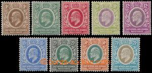 162564 - 1907-8 SG.34-42, Edvard VII. 1c-75c; kompletní série, kat. &