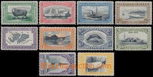 162833 - 1933 SG.127-136, Jiří V., 100 výročí britské správy, nekompl
