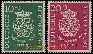 163255 - 1950 Mi.121-122, 200. výročí úmrtí J. S. Bacha, kompletní sé