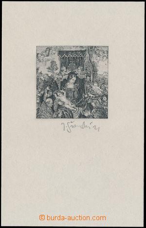 163363 - 1968 PT4N, Růžencová slavnost, úředně nevydaný PT, na