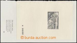163365 - 1962 PT1, Výstava PRAGA ´62, číslovaný, vlepen za levý