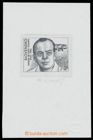 164504 - 1994 ZT  Zsf.29, Osobnosti (I) 9Sk, zkusmý tisk na lístku kř