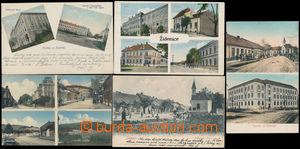 164637 - 1910-14 BRNO - ŽIDENICE  sestava 5ks pohlednic se záběry měs