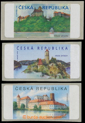 164673 - 2000-2005 Pof.AT1, Veveří (castle) + AT2, Zvíkov + AT3, J