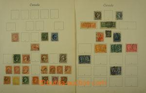 164803 - 1859-1936 [SBÍRKY]  menší sbírka na 5 albových listech, zast