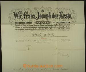 165018 - 1912 FRANTIŠEK JOSEF I. (1830–1916), rakouský císař, vlastno
