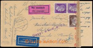 165162 / 2905 - Filatelie / Slovensko 1939-1945 / Filatelistické obory / Zajímavosti poštovního provozu