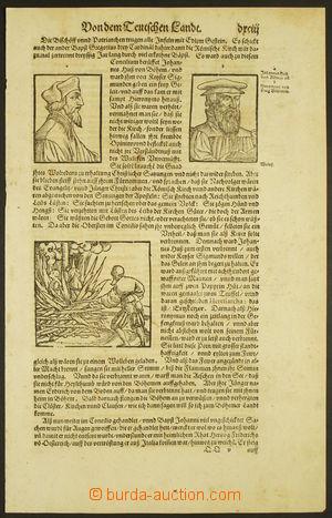 165296 - 1580-90 Cosmographia Sebastiana Münstera: Jan Hus a Jeroným