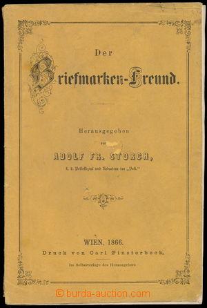 165655 - 1866 BRIEFMARKEN-FREUND, katalog známek, Vídeň, 1866, 44 str