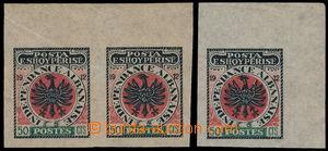 165710 - 1914 NEVYDANÁ - Znak 50Cts Indenpendance Albanaise, krajová