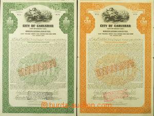 165846 - 1924 AKCIE MĚSTA KARLOVY VARY  (CITY OF KARLOVY VARY MUNICIP