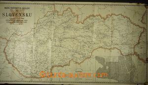 165849 - 1946 sestava 3ks map poštovních spojů pro České země, Moravu