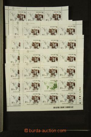 165985 - 1986-92 [SBÍRKY]  skladová zásoba lepších zn., aršíků a znám
