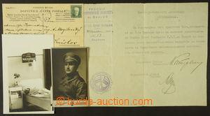 166211 - 1920-30 RUSKO/ POLSKO/ EMIGRACE ČSR  konvolut po vojákovi Ni