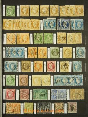 166616 - 1850-1970 [SBÍRKY]  sbírka známek v zaplněném 16-listovém zá