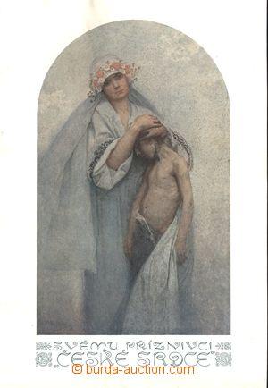 166632 - 1917 MUCHA Alfons (1860–1939) - České srdce, plakát, rozměr