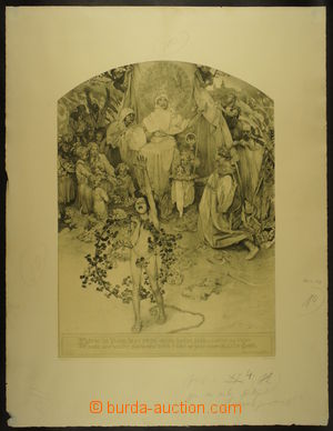 166634 - 1918 MUCHA Alfons (1860–1939) - Procitnutí národa (Kšaf