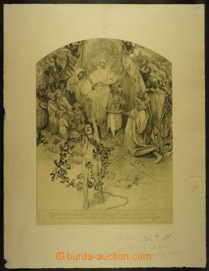 166634 - 1918 MUCHA Alfons (1860–1939) - Procitnutí národa (Kšaft Kom