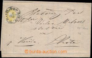166637 - 1862 tiskopis - ½ oběžníku s informacemi ohledně Hospod
