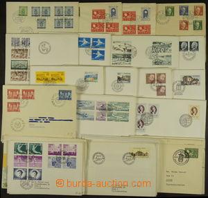 166692 - 1949-92 [SBÍRKY]  obchodní zásoba cca 370 ks různých ce