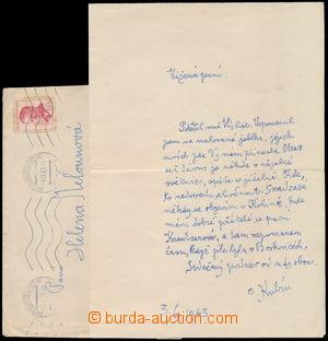 166706 - 1963 KUBÍN Otakar (COUBINE Othon) (1883-1969), malíř a grafi