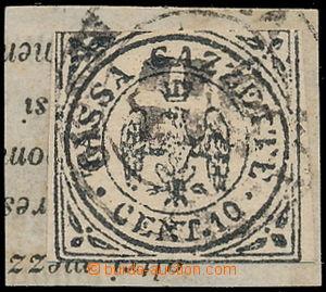 166769 - 1859 Sas.5, novinová Orel s korunkou - TASSA GAZZETE 10C, na