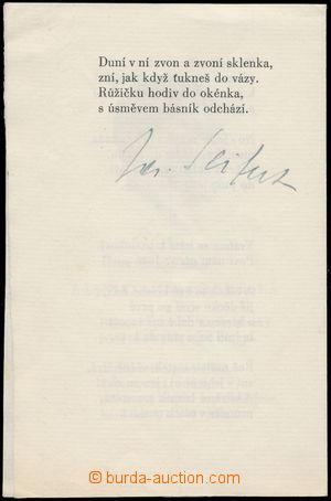 166802 - 1966 SEIFERT Jaroslav (1901–1986), český básník, spisovatel,