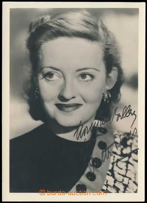 166902 - 1935? DAVIS Bette (1908-1989), světoznámá americká herečka,