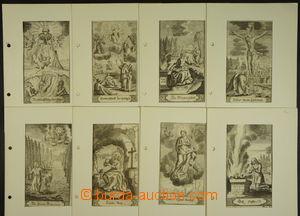 167055 - 1880-1910 [SBÍRKY]  sbírka více jak 280ks svatých obrázků, u