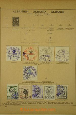167056 - 1879-1939 [SBÍRKY]  ALBÁNIE, BULHARSKO, menší sbírka na 23 a