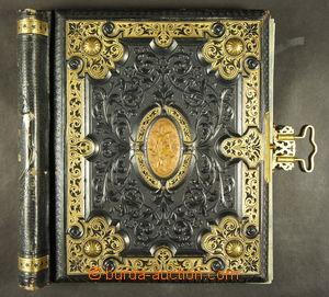 167083 - 1920 Pérové desky - zdobené, zlacené s plastickými reliéfy a