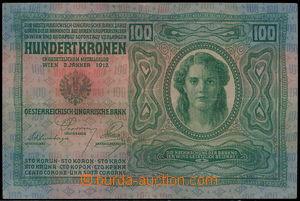 167148 - 1912 Pi.12, Ba.RU10  100K, vydání 1912, série 1306