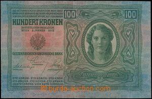167149 - 1912 Pi.12, Ba.RU10  100K, vydání 1912, série 2059