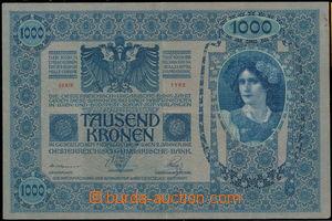 167150 - 1902 Pi.8, Ba.RU11  1000K, vydání 1902, série 1182