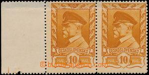 167170 - 1945 Pof.382 VV, Moskevské 10h hnědožlutá, krajová 2-p�