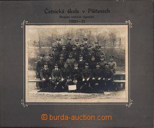 167198 - 1921 ČESKOSLOVENSKO/ ČETNICTVO  četnická škola v Pišťanech,