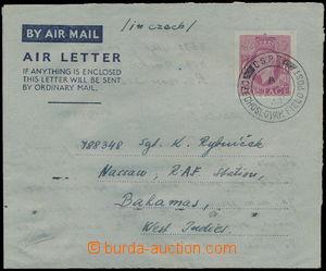 167210 - 1944 Let-zálepka zaslaná na Bahamské ostrovy! navigátoro