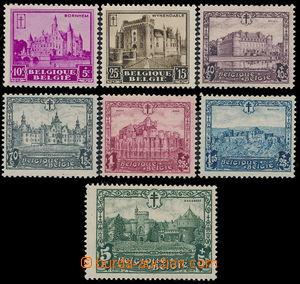 167340 - 1930 Mi.291-297, Hrady a zámky; kompletní série, kat. 180€